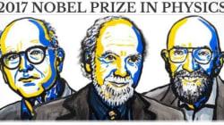 Le prix Nobel de physique 2017 récompense la première observation des ondes