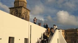 Médina de Tunis: Transformation du Presbytère Sainte-croix en un