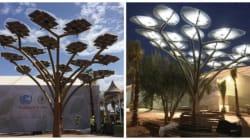 Des arbres solaires à Marrakech pour recharger vos