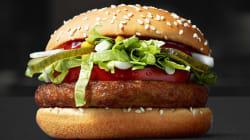 맥도날드가 비건 채식주의자 버거를