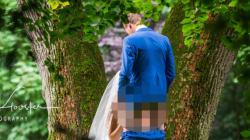 네덜란드 부부의 웨딩 사진이 인터넷을