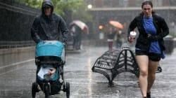 Ο κυκλώνας Νέιτ, κατηγορίας 1, έφτασε στο Μισισίπι των