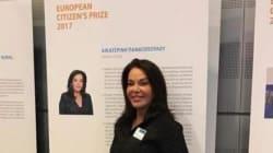 «Βραβείο του Ευρωπαίου Πολίτη» στην Κατερίνα