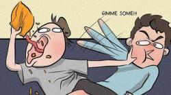 15 σκίτσα που αποδεικνύουν πώς πλέον αισθάνεστε (υπερβολικά) πολύ άνετα στη σχέση