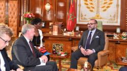 Sahara: le Roi Mohammed VI reçoit Horst