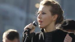 Υποψήφια για την προεδρία της Ρωσίας η τηλεπαρουσιάστρια Ξένια