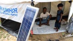 Le solaire, source d'énergie des camps