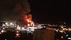 Un incendie détruit une partie des installations de Cevital à