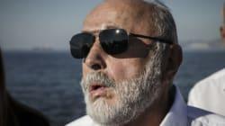 Κουρουμπλής: Εντολή για ανέλκυση του κρουαζιερόπλοιου Sea Diamond απ' το βυθό της