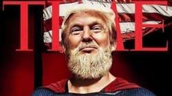 Donald Trump Jr. moqué pour ce montage de son père en