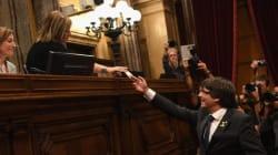 Le Parlement de Catalogne déclare
