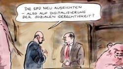 Satirischer Wochenrückblick: Olaf Scholz empfiehlt Neuausrichtung der