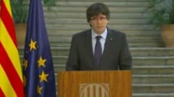 Puigdemont appelle les Catalans
