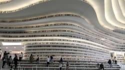 Η πιο όμορφη βιβλιοθήκη από τα πιο τρελά sci-fi όνειρά μας, άνοιξε πρόσφατα στην