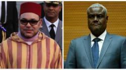 Le roi reçoit le président de la commission de l'Union africaine, en visite au
