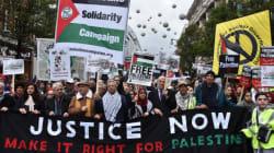 Centenaire de la Déclaration Balfour: des milliers de manifestants à Londres réclament justice pour la