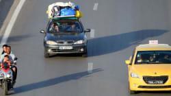 Débarquement interdit au port de la Goulette pour tout véhicule dont le toit est chargé de