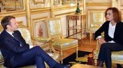 Quand Emmanuel Macron fait un jeu de mots pour parler de Leïla