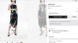 Moschino vend une robe