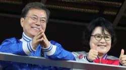 김정숙 여사의 '지지율'이 문대통령을
