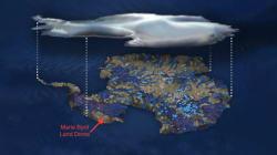 Μεγάλη πηγή θερμότητας λιώνει από κάτω τους πάγους της δυτικής