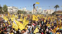 Des dizaines de milliers de Palestiniens commémorent à Gaza la mort