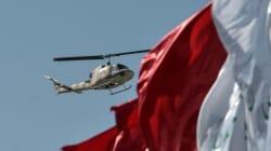 Συντριβή στρατιωτικού ελικοπτέρου στο Ιράν. Τουλάχιστον επτά