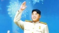 북한의 김부자 초상화가 팝아트풍으로 가는