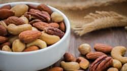Consommer régulièrement des fruits à coque réduirait le risque