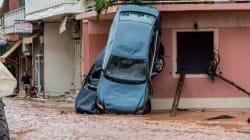 Δύσκολη νύχτα μετά την καταστροφή από τις πλημμύρες στη δυτική Αττική: Η εικόνα της επόμενης