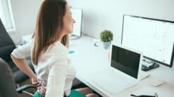 6 exercices à faire au bureau pour éviter le mal de