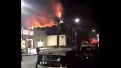 Marrakech: Incendie au Palais Jad