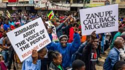 Les Zimbabwéens dans la rue pour demander le départ de