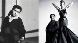 Quand l'artiste marocaine Amina Agueznay rendait hommage à une des robes d'Azzedine