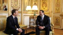 Hariri et Macron tentent à Paris de désamorcer la crise