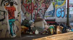 Hier könnt ihr drei Obdachlosen die Winterzeit