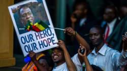 [화보] 37년 독재에서 벗어난 짐바브웨의