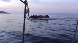 Δεκάδες πρόσφυγες σε ταχύπλοο σκάφος ανοιχτά της