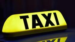 57세 남자 택시기사가 뒷자리 쳐다보며 한