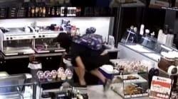 Βίντεο από τη δράση του «ψηλού» και του κοντού» που χτυπούσαν πρακτορεία
