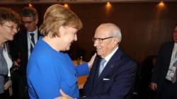 À Abidjan, Angela Merkel et Alassane Ouattara souhaitent un joyeux anniversaire à Béji Caid Essebsi