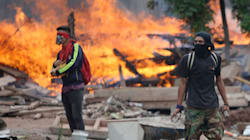 대선 '부정개표' 시위로 비상사태 선포된 온두라스