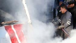 Tunisie: Renversement d'un bus à Amdoun, une cinquantaine de blessés