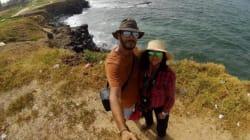 Ce jeune couple tunisien sillonne le monde à pied: Rencontre avec Mohamed et