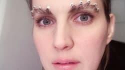 Les sourcils en couronne: La nouvelle tendance beauté sur