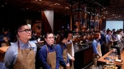 세계 최대 규모의 스타벅스 매장이 문을