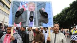 Des centaines de milliers de personnes manifestent à Rabat contre la décision de Trump de reconnaitre Jérusalem comme capital...