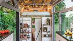 효율적이고 예쁜 7평 초소형 집의 내부