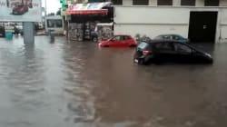 Casablanca: les pluies diluviennes ont provoqué des inondations dans les rues de la
