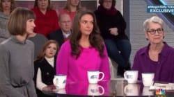 Trois femmes qui accusent Trump de comportements sexuels déplacés réunies sur un